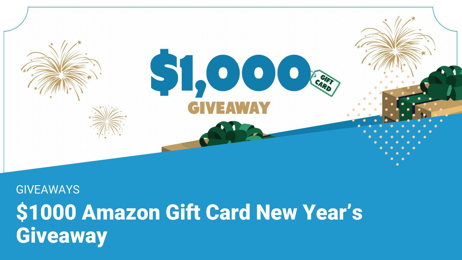 contest of 1000 dollar gift card giveaway for new year 2020