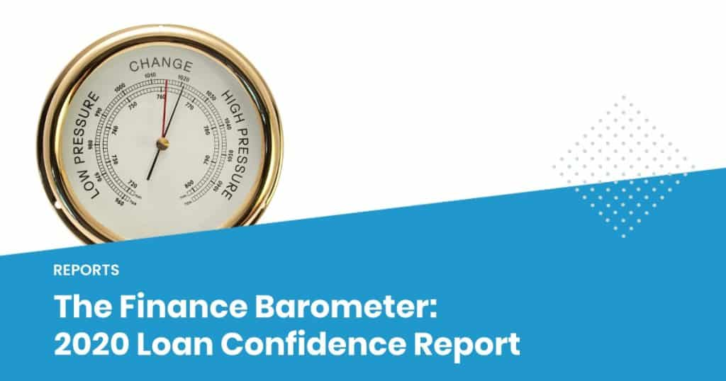 finance barometer loan confidence report 2020