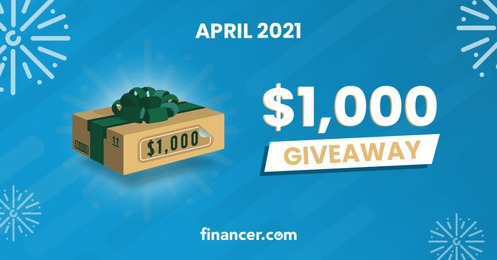April $1000 Amazon Giveaway Giftcard Financer