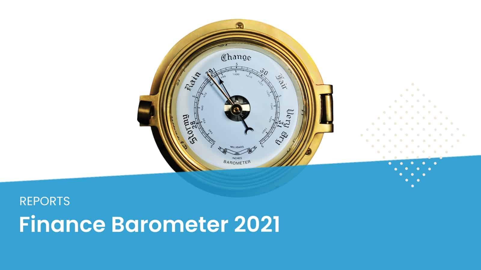 Finance Barometer 2021 Credit Report Loan Statistics