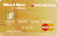 UniCredit MasterCard Miles & More Gold