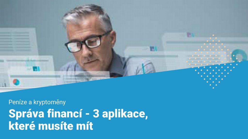 aplikace pro správu financí