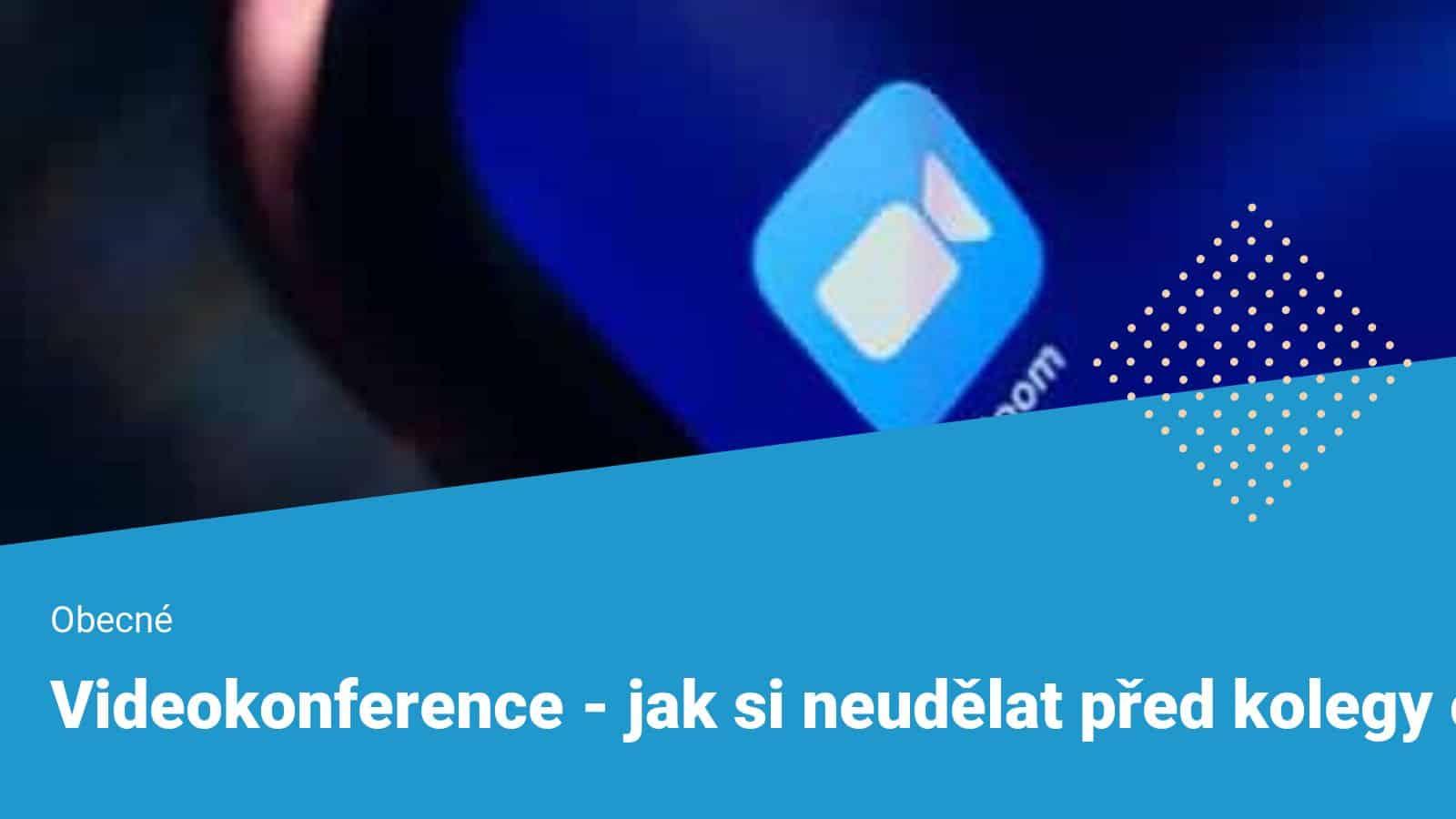 Zoom - videokonference