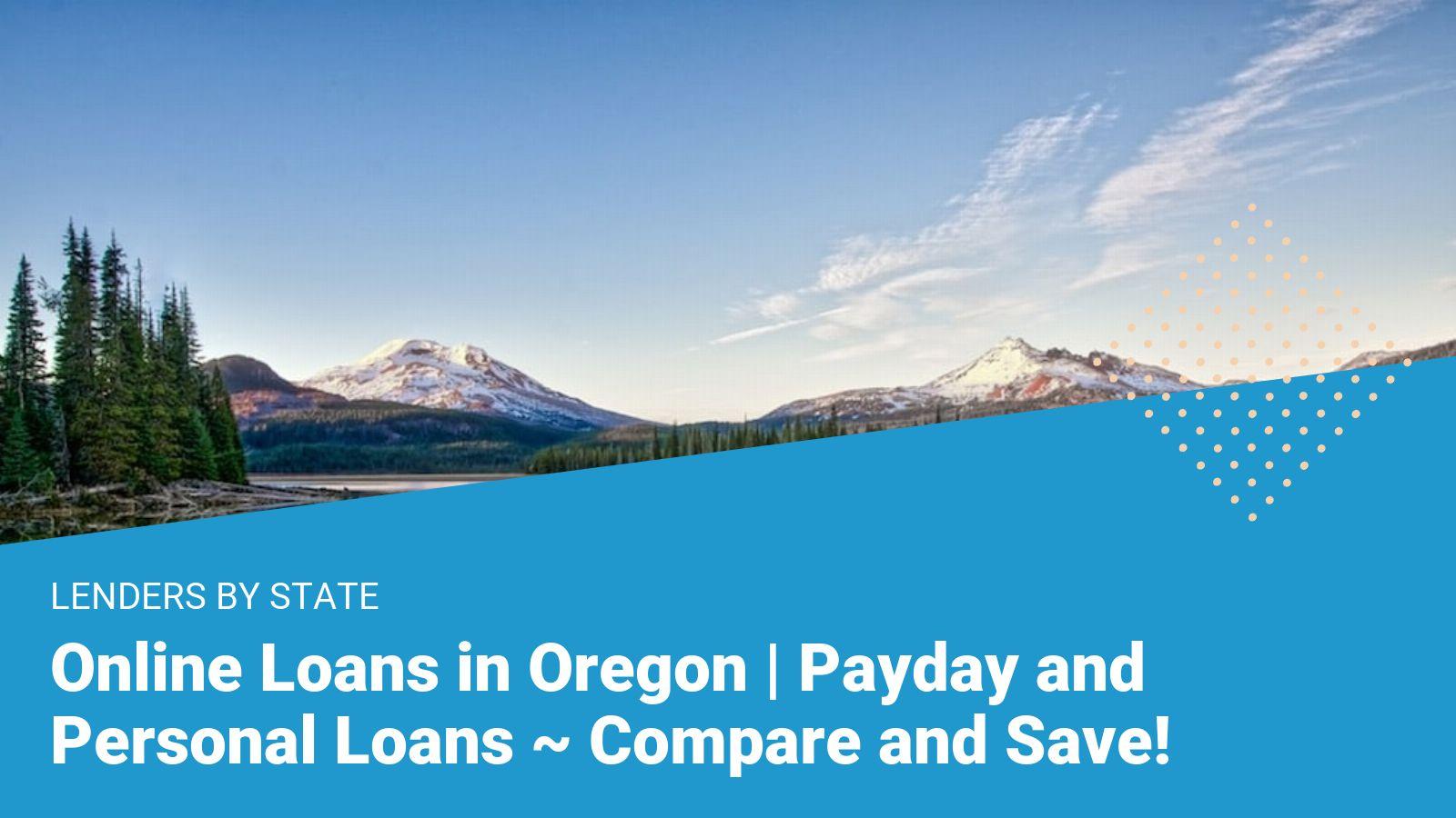 oregon loans
