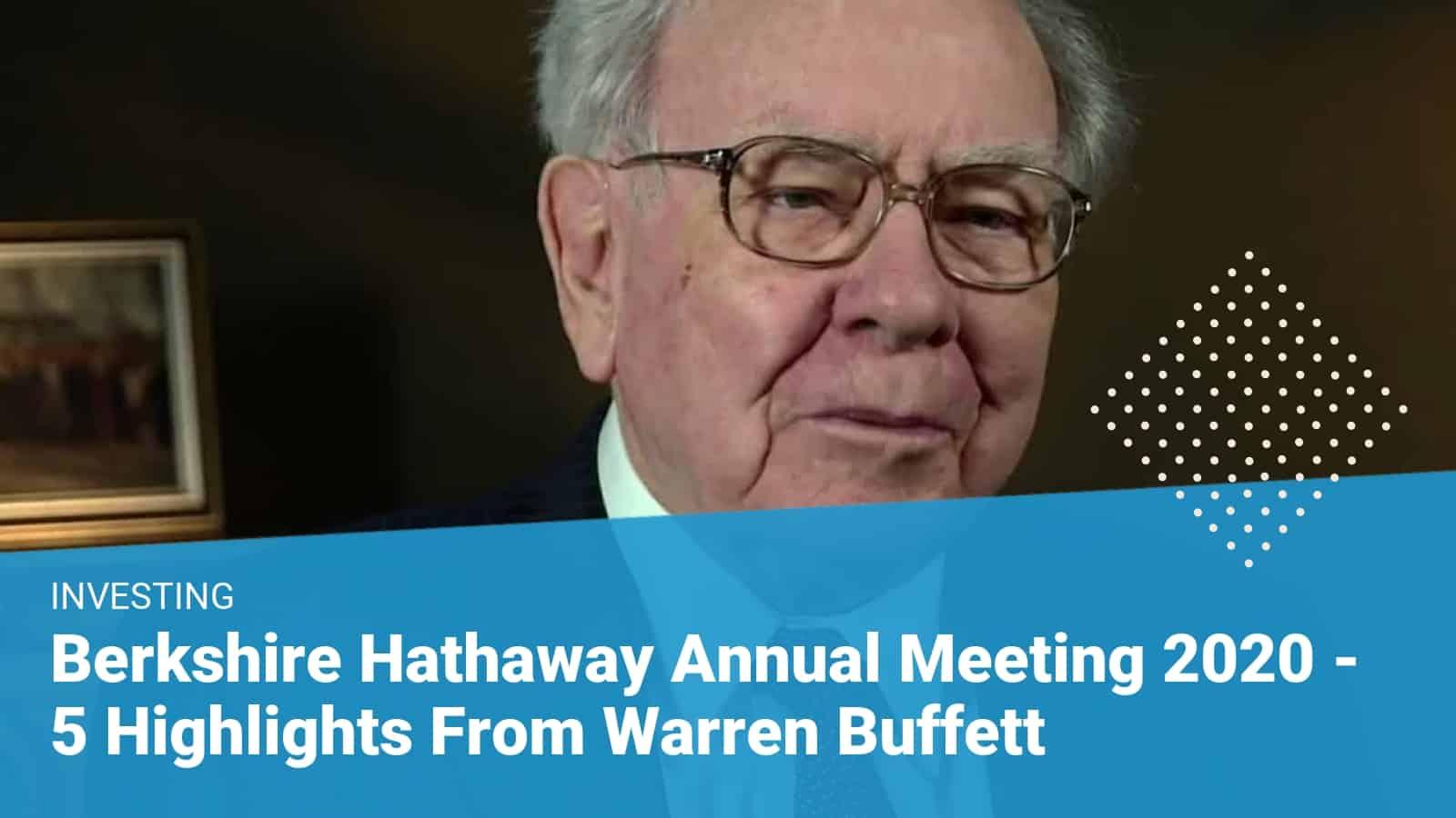 Berkshire Hathaway 2020 Annual Meeting