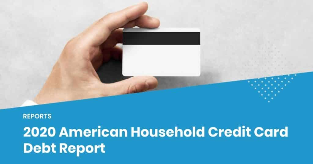 American credit card debt 2020