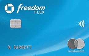 Chase® Freedom Flex℠ Card