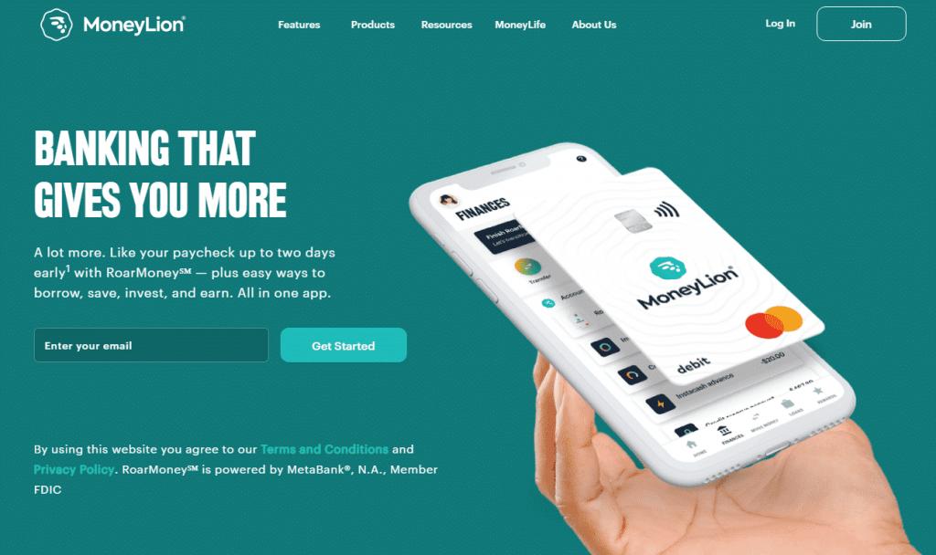 MoneyLion Website