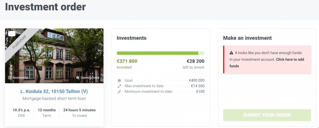 investitii in crowdestate