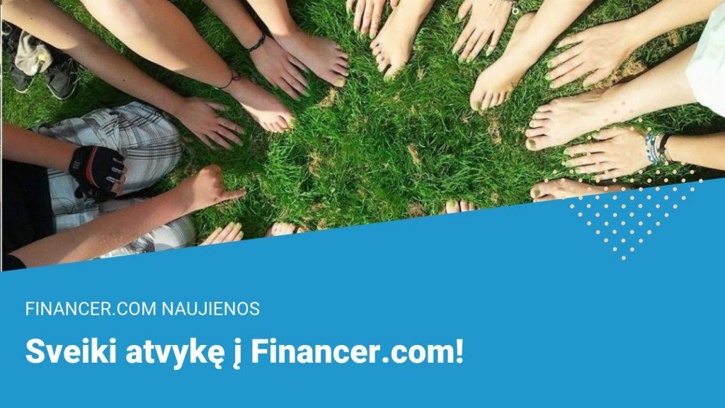 Sveiki atvykę į Financer.com!