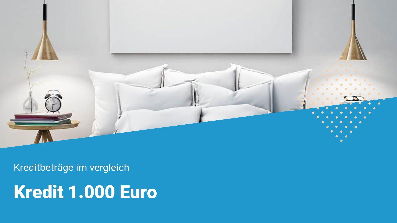 1000 Euro Kredit