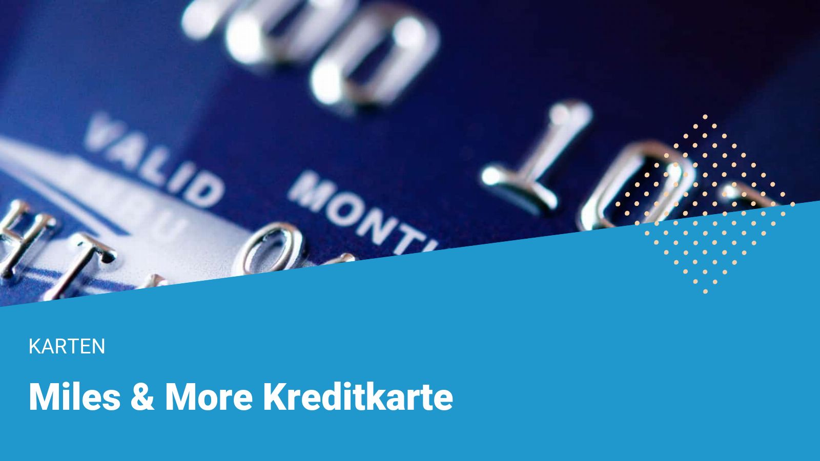 miles and more kreditkarte