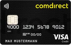 comdirect-visa card