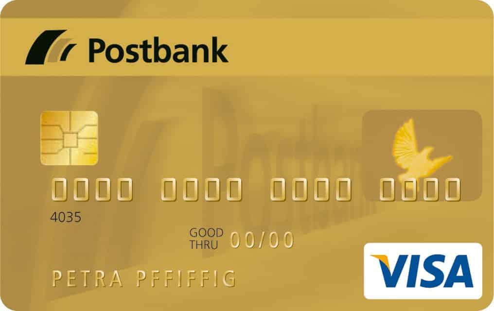 Postbank Visa Gold Card