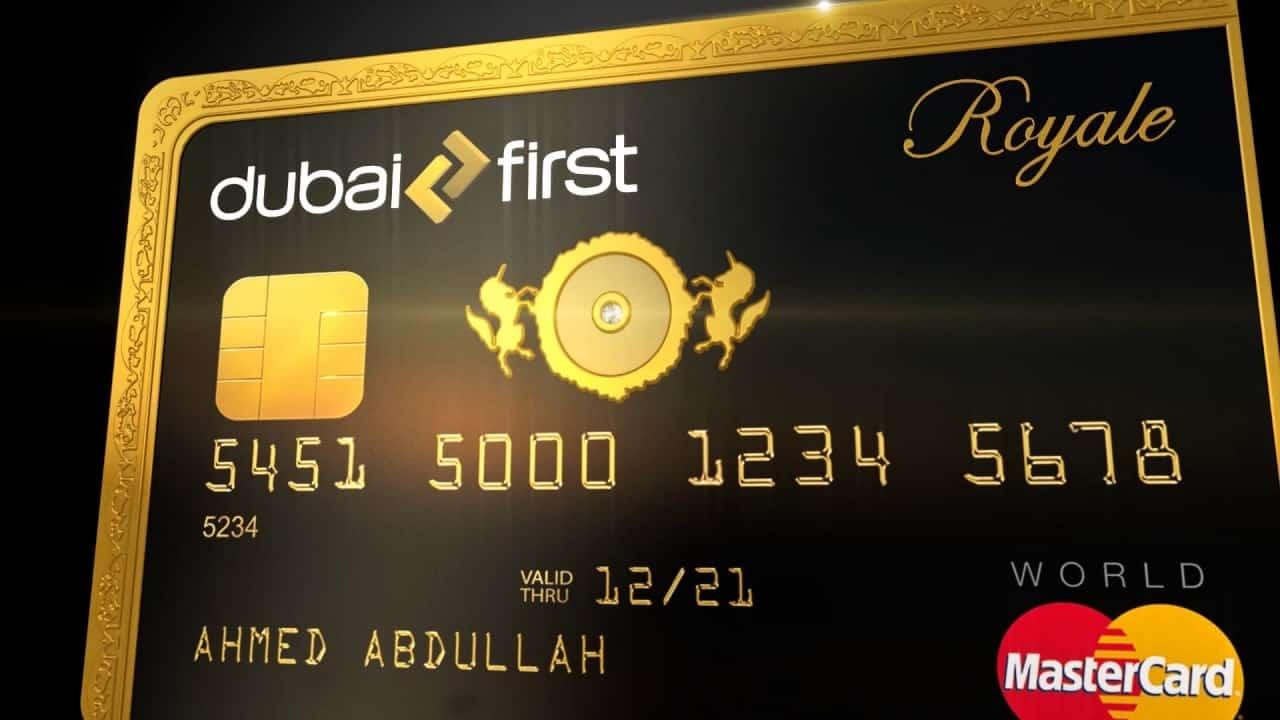 ank of Dubai First Royale kredittkort