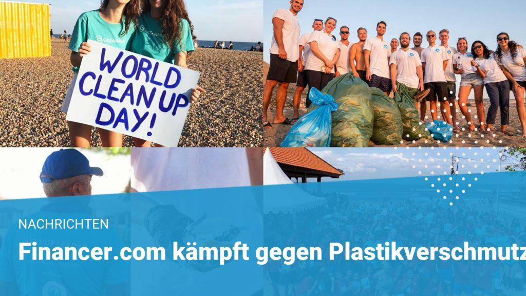 beach cleanup financer