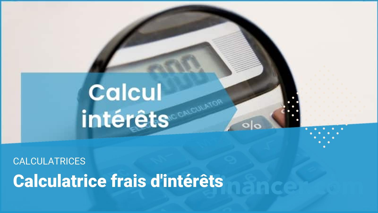 calcul interets