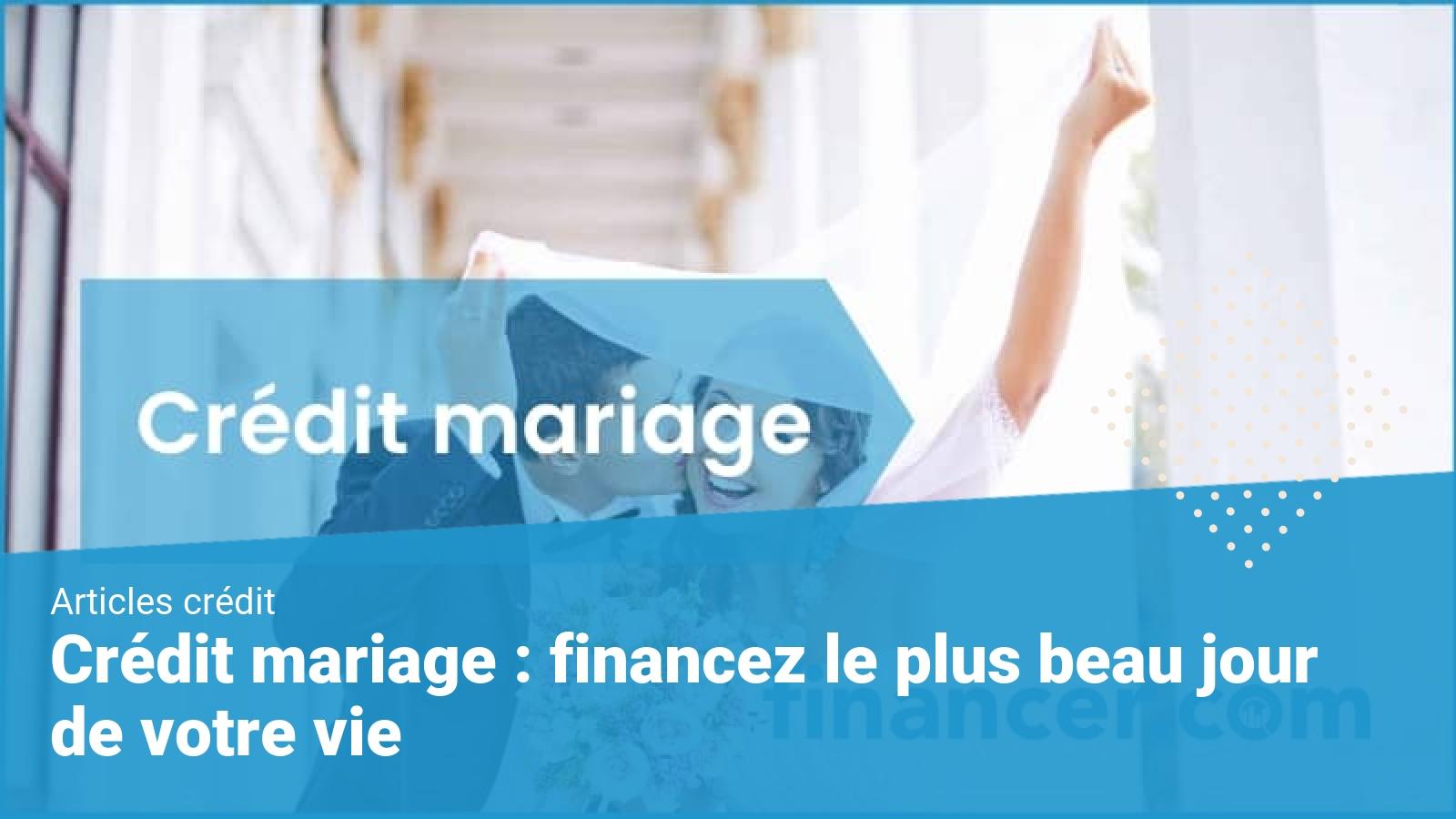 credit mariage