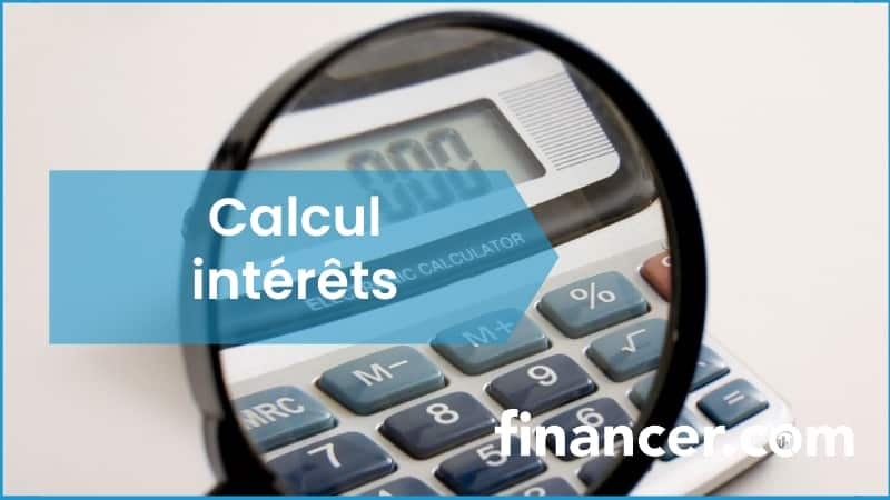 calcul interets