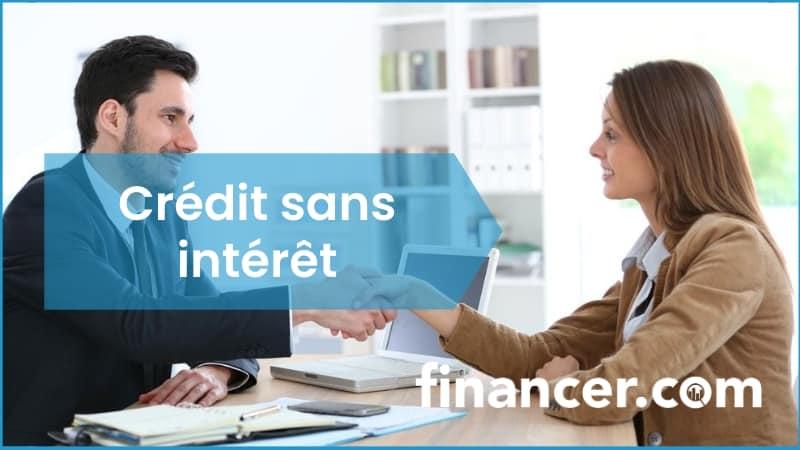 credit sans interet