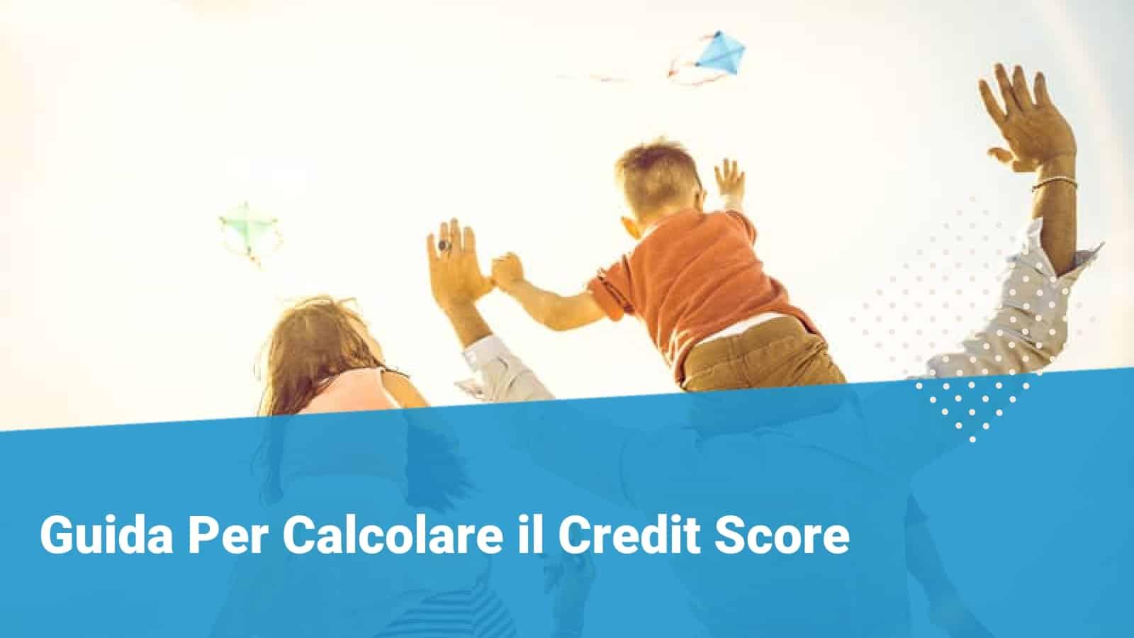 Credit score - Financer.com Italia