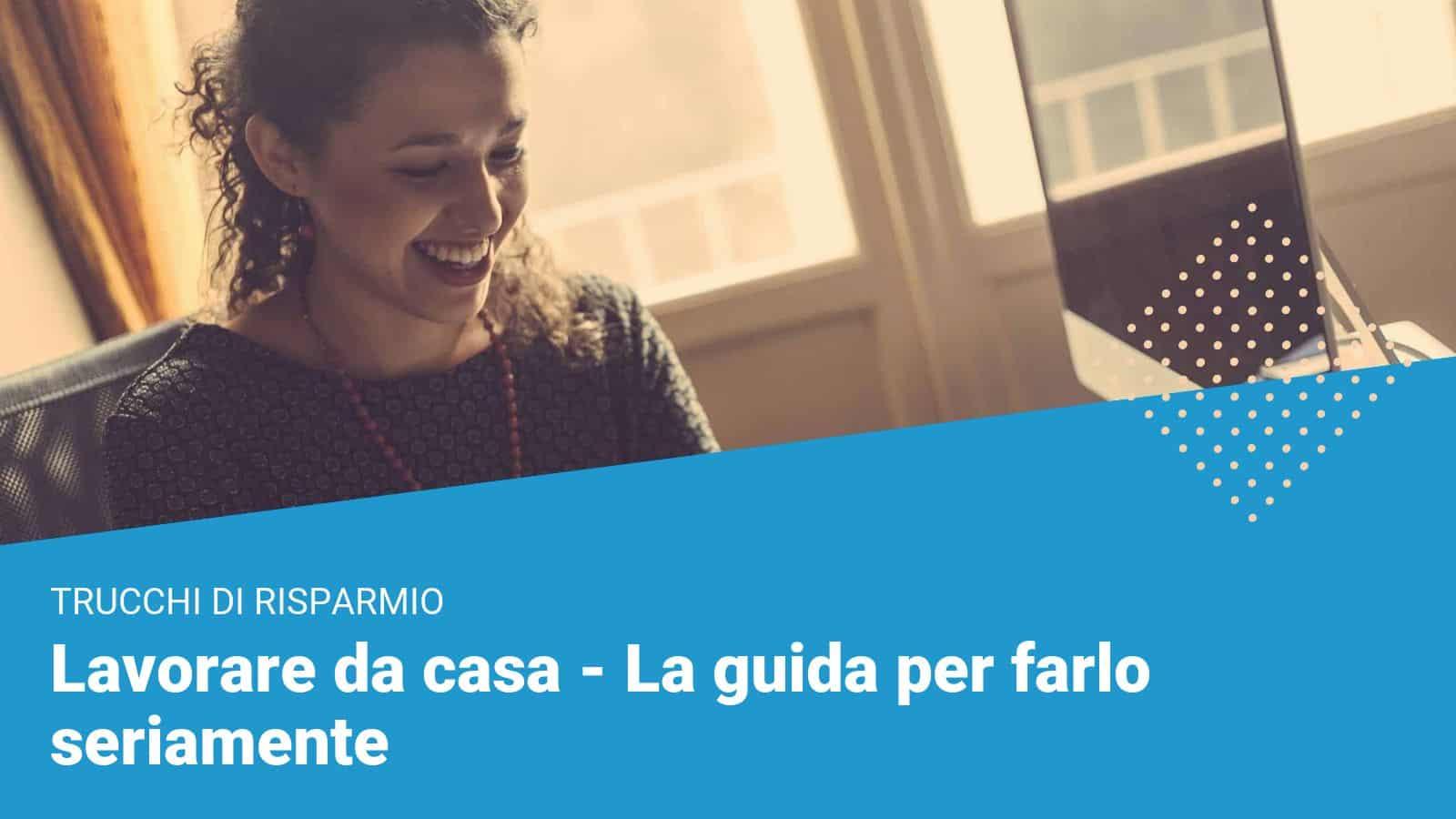 Lavorare da casa - Financer Italia