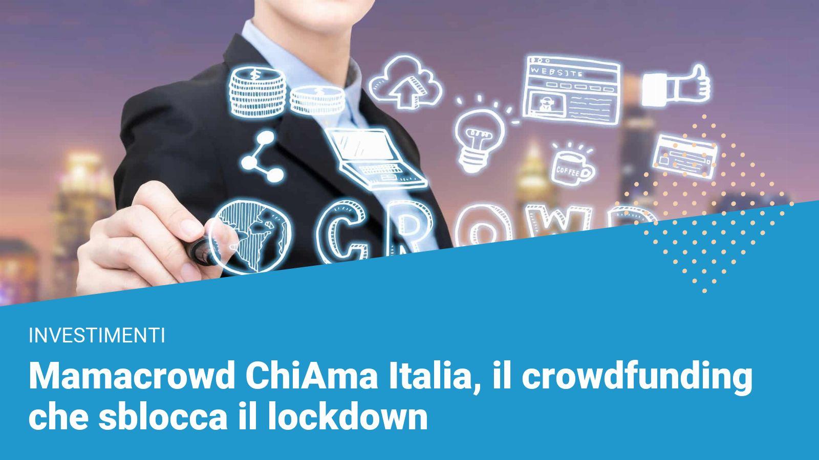 Mamacrowd ChiAma Italia - Financer.com Italia