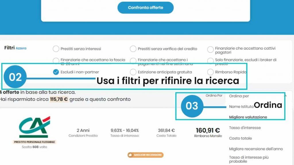 Confronta i migliori prestiti con Financer.com Italia