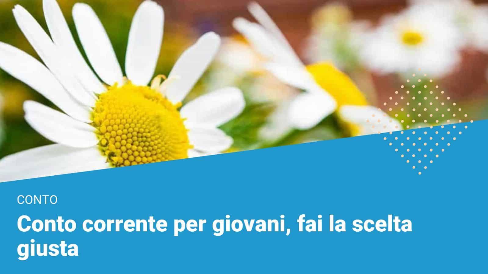 Conto corrente per giovani - Financer.com Italia