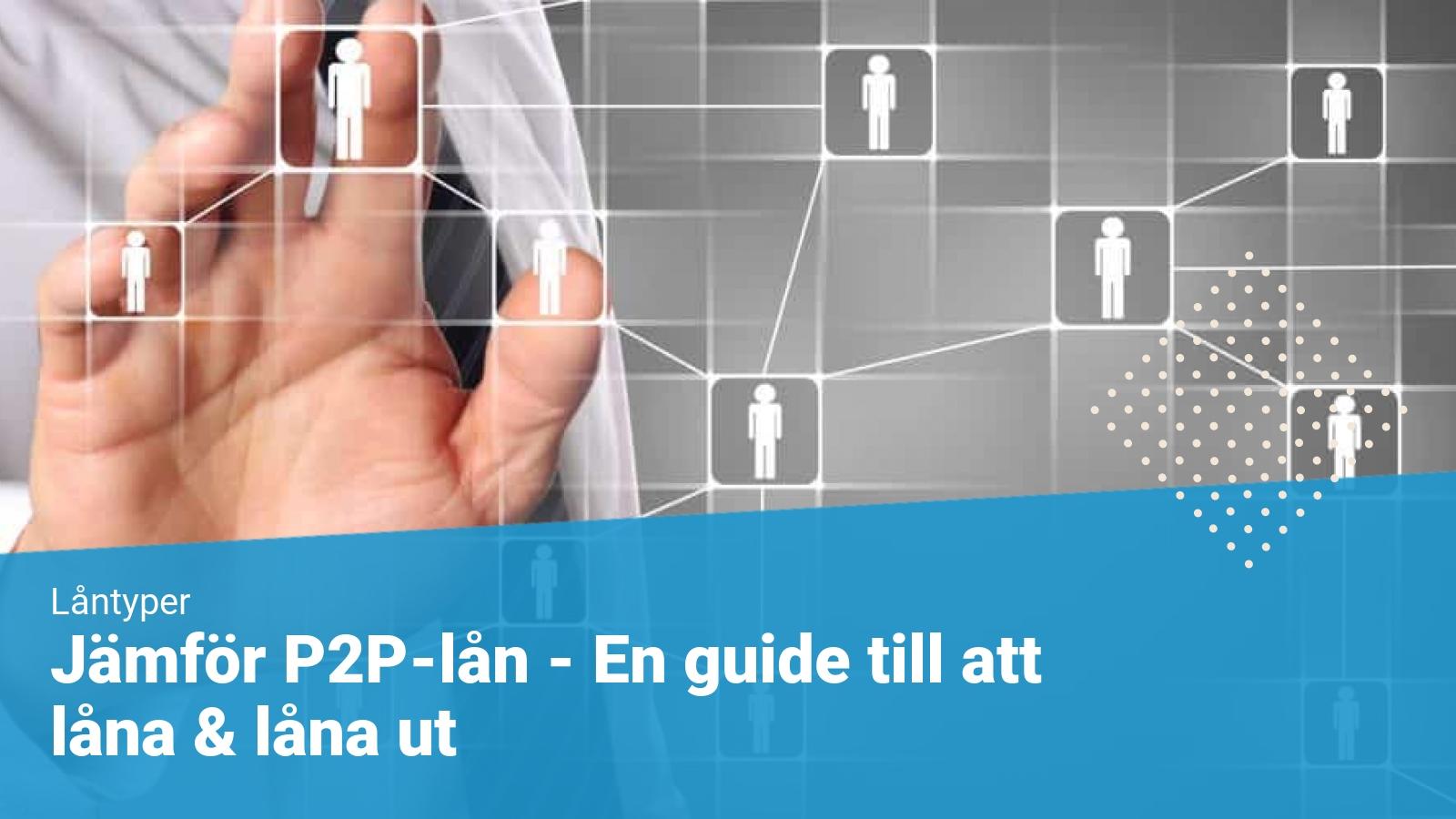 p2p lån som privatperson