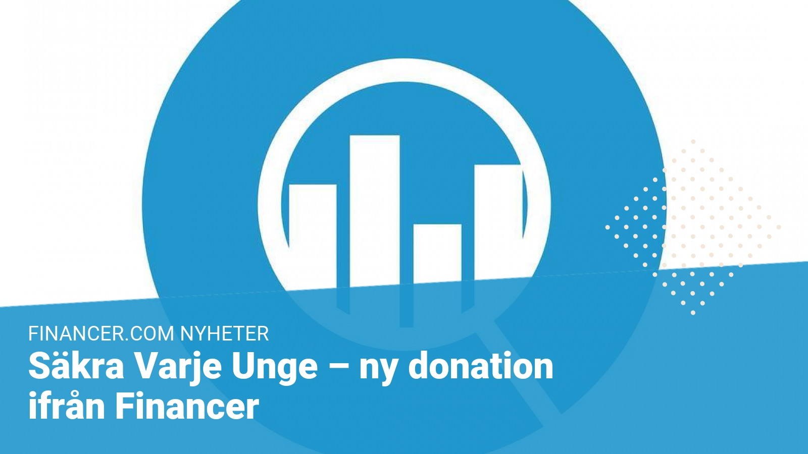 Säkra Varje Unge - financer donation