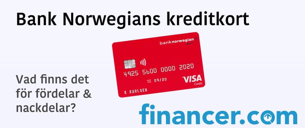 Bank Norwegian kreditkort (VISA)