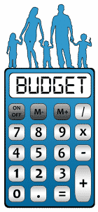 budget familj kalkylator