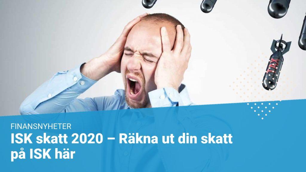 skatt på isk 2018
