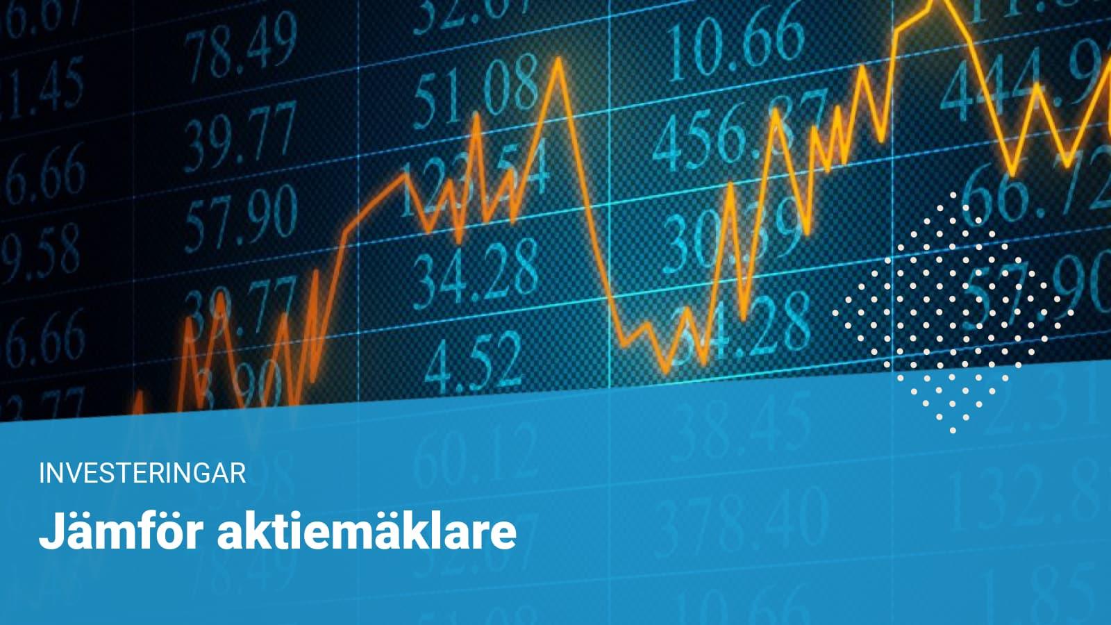 graf på aktiehandel