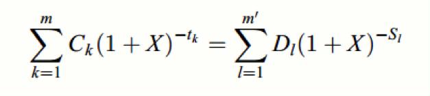 Formeln för effektiv ränta
