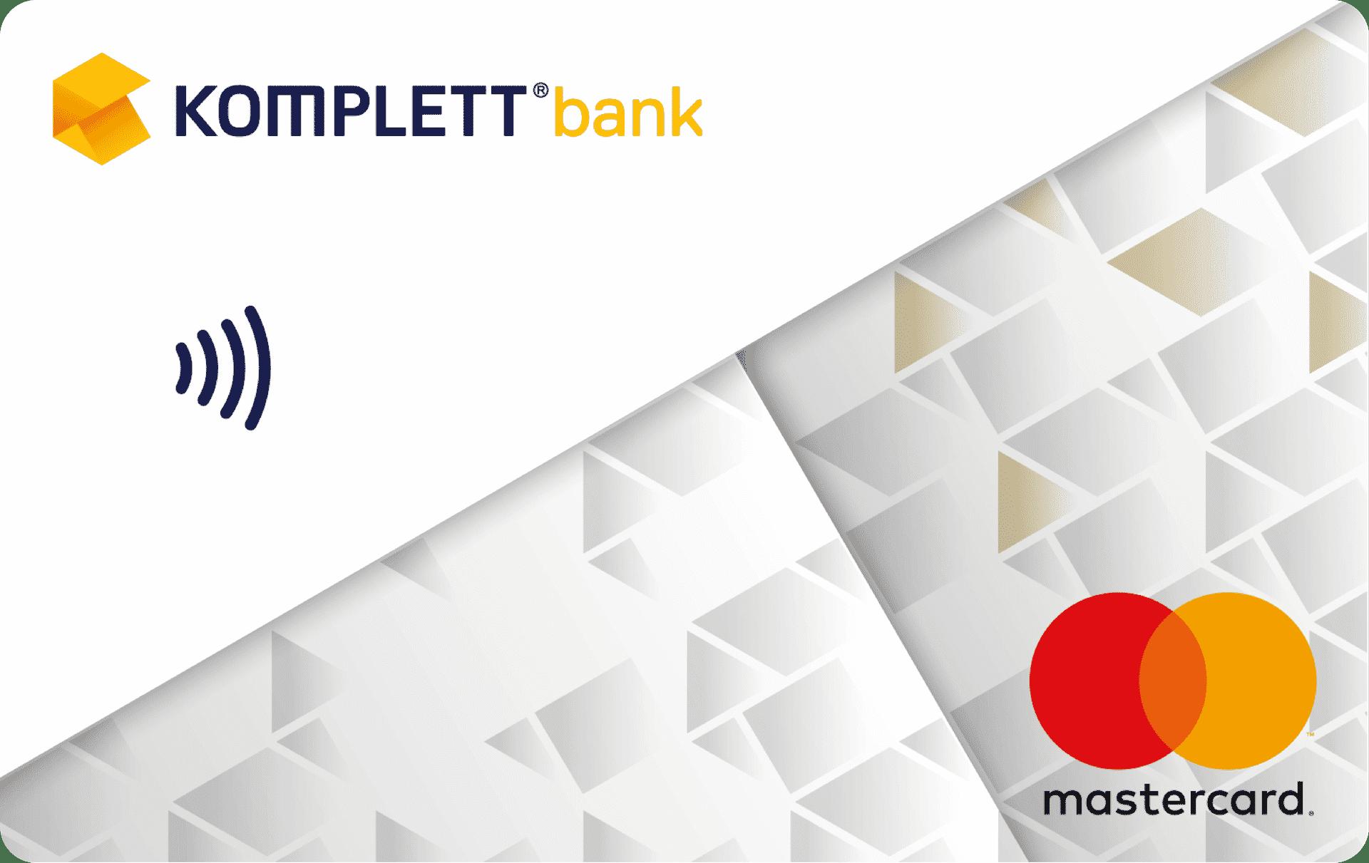 Komplett Bank Kreditkort 2019