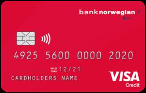 Kreditkort Bank Norwegian 2020