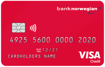 Kreditkort Bank Norwegian 2020