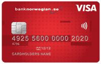 Bank Norwegian kreditkort (VISA)