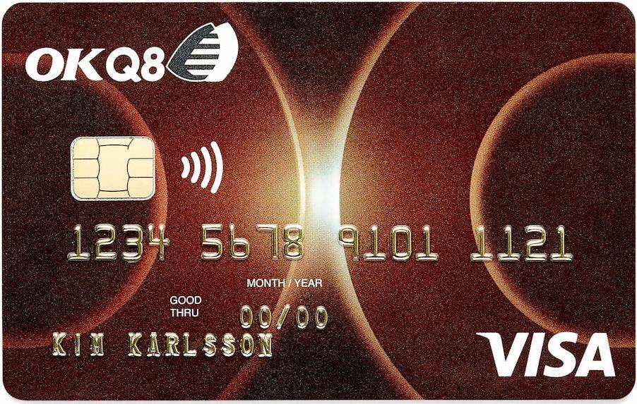 OKQ8 Visa kreditkort