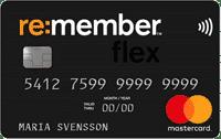 Remember flex kreditkort - Bästa kreditkortet 2020