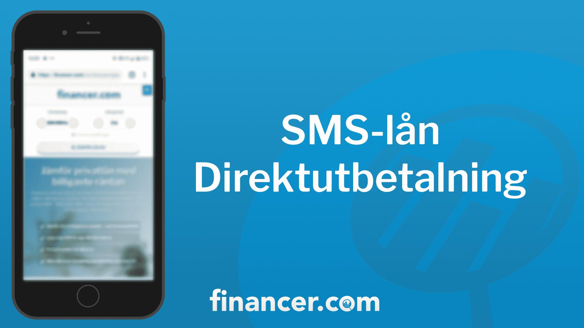SMSlån med direktutbetalning