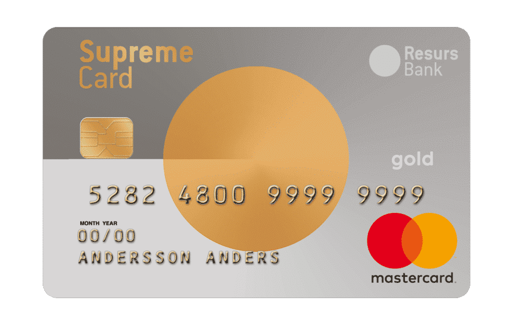 Supreme Card Gold 2019