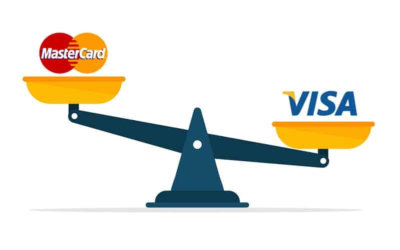 Visa vs Mastercard - jämförelse