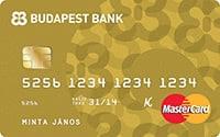 Budapest Bank Arany Hitelkártya