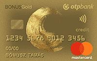 OTP Bonus Gold Hitelkártya