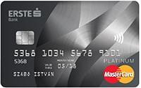 Erste Platinum Hitelkártya