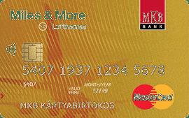 MKB Miles&More Mastercard Gold Hitelkártya