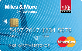 MKB Miles&More Mastercard Standard Hitelkártya